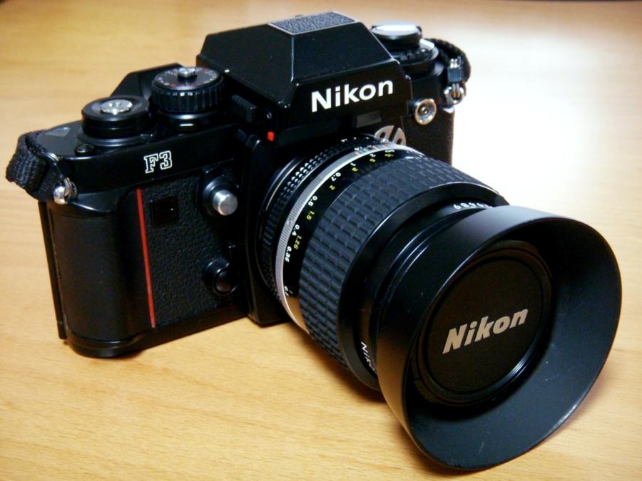 Nikon F3の全体像