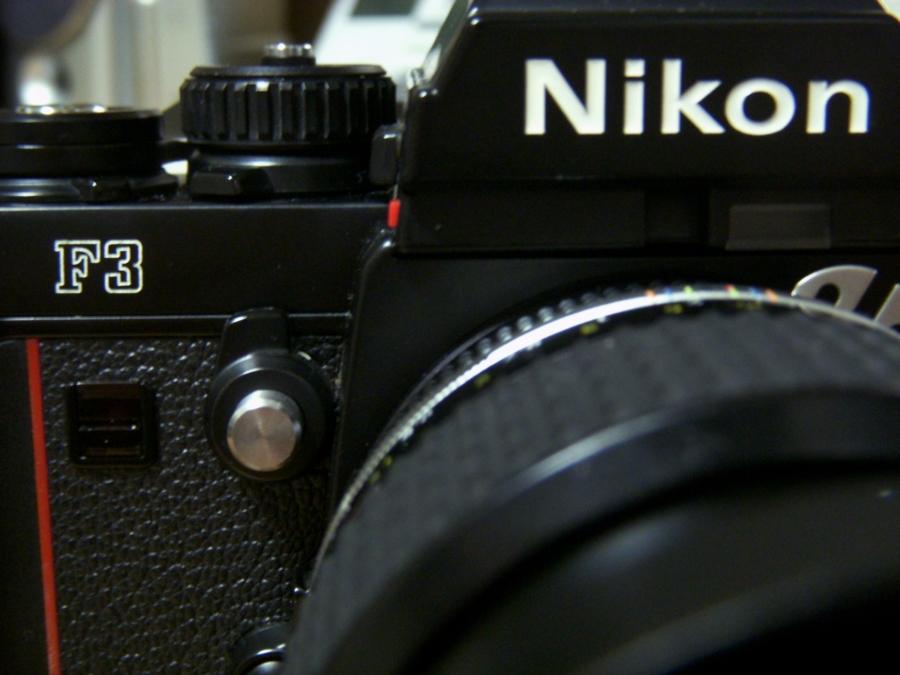 Nikon F3 ロゴ