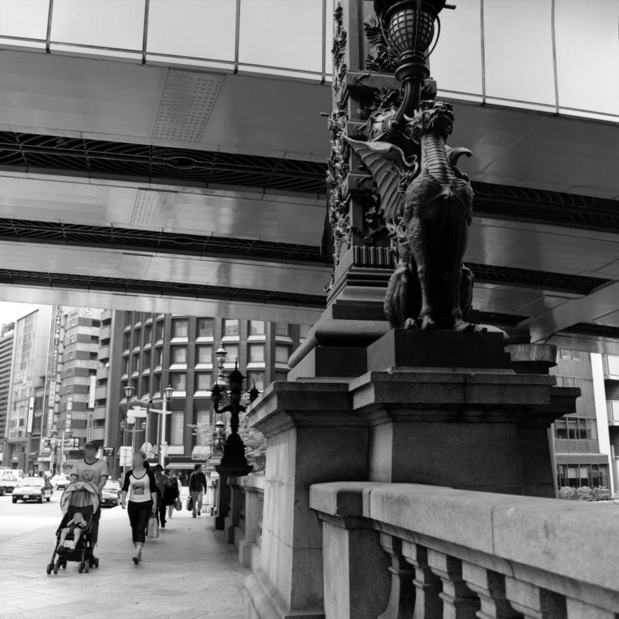 日本橋の欄干 麒麟