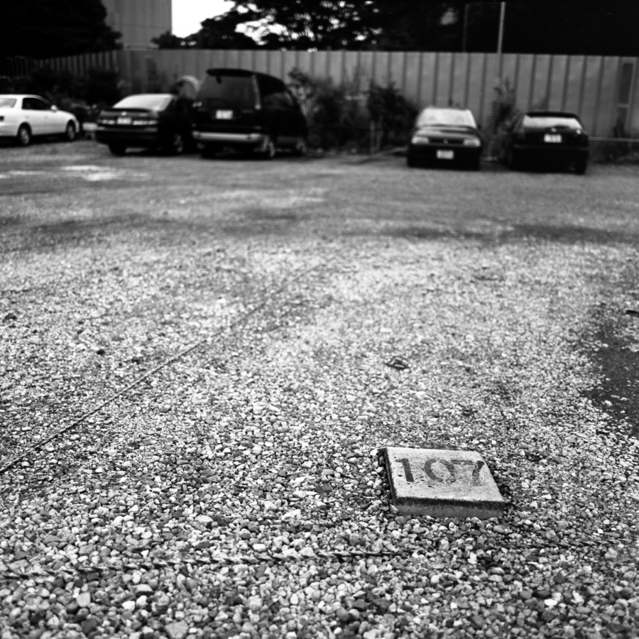 駐車場の表示