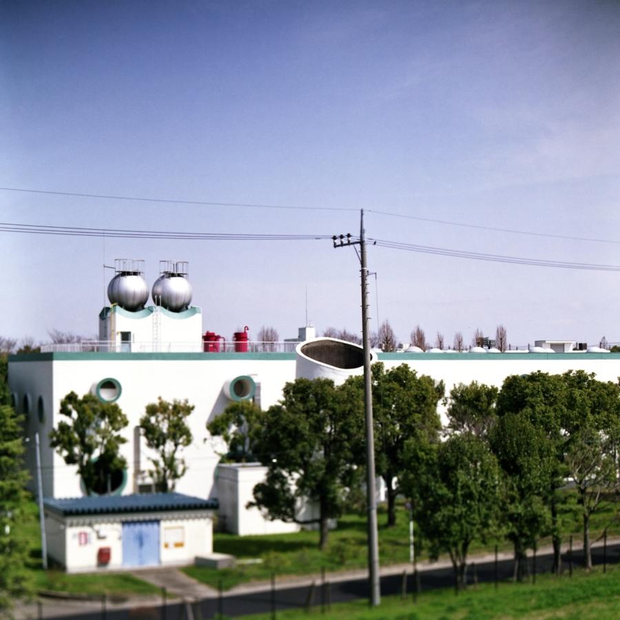 水循環センターの建物