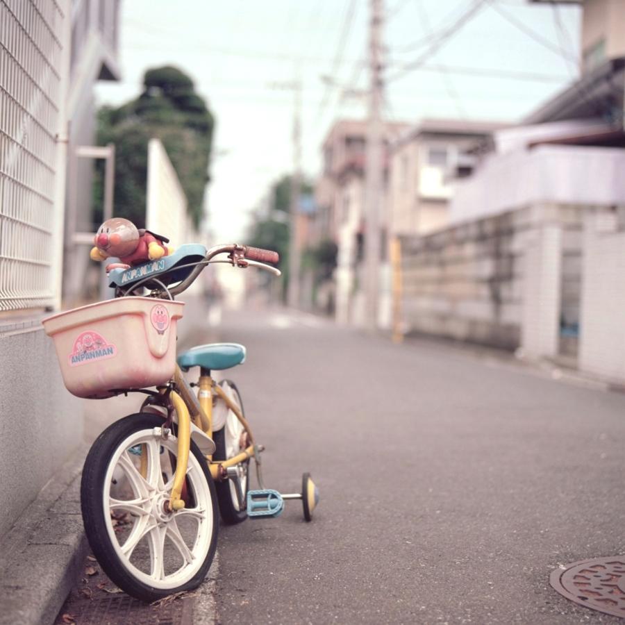 アンパンマンの自転車