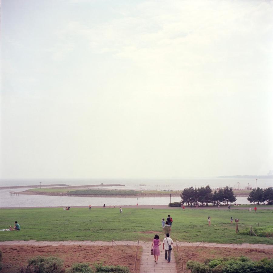 葛西臨海公園から見える海
