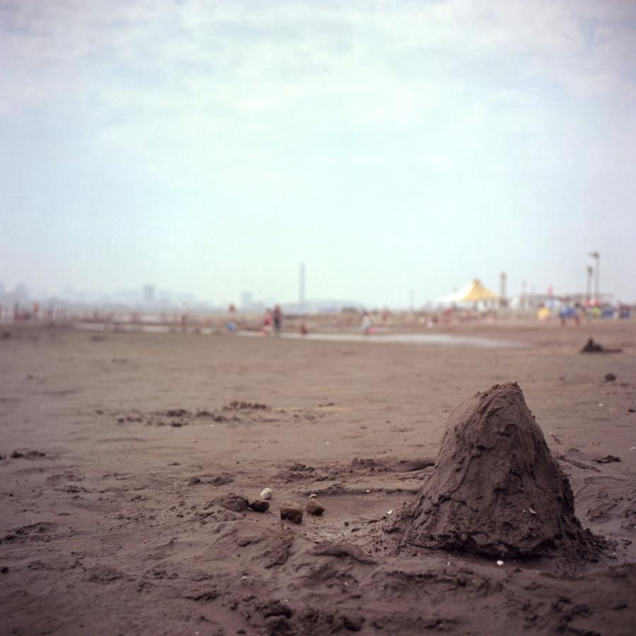 葛西海浜公園 砂の山