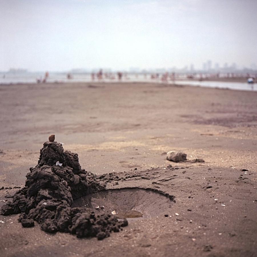 葛西海浜公園 砂の穴