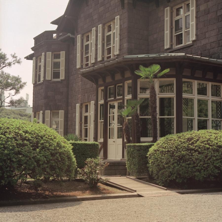 旧古河庭園 洋館のサンルーム