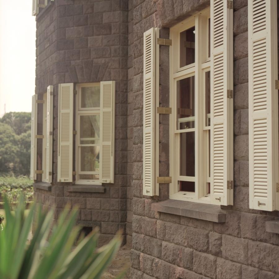 旧古河庭園 洋館の窓