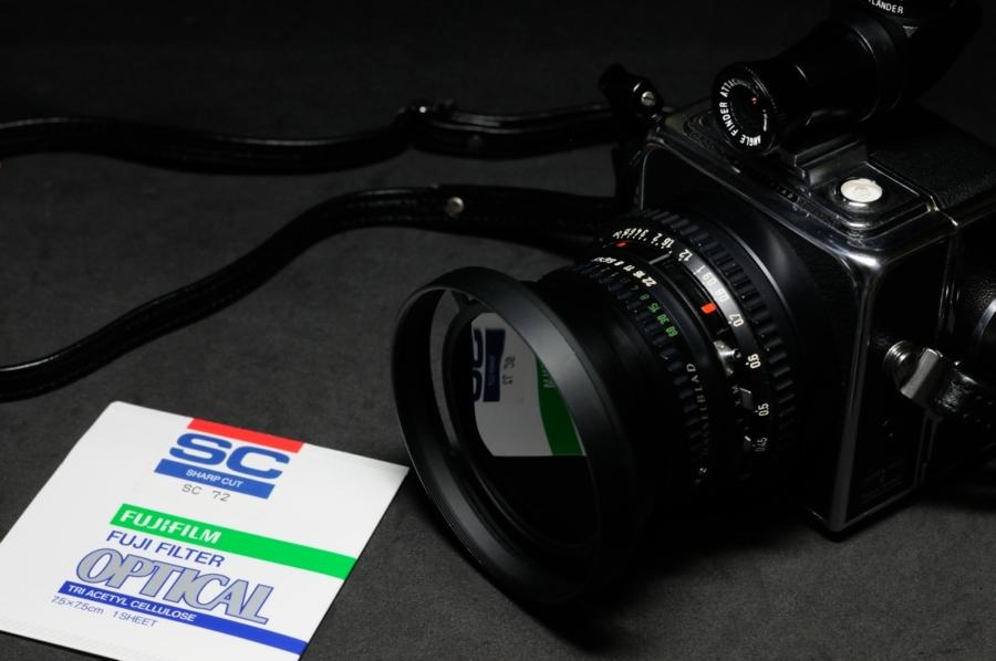 HASSELBLAD SW 富士フイルム ゼラチンフィルター SC-72
