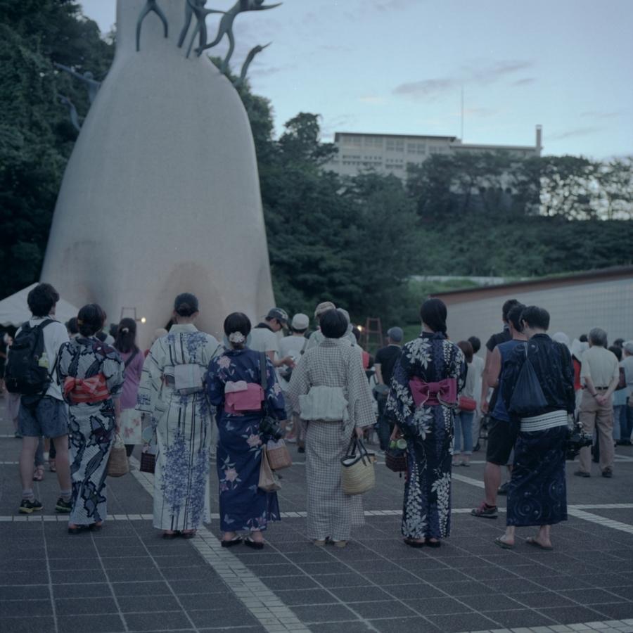 川崎市岡本太郎美術館に到着