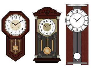 振り子 柱時計