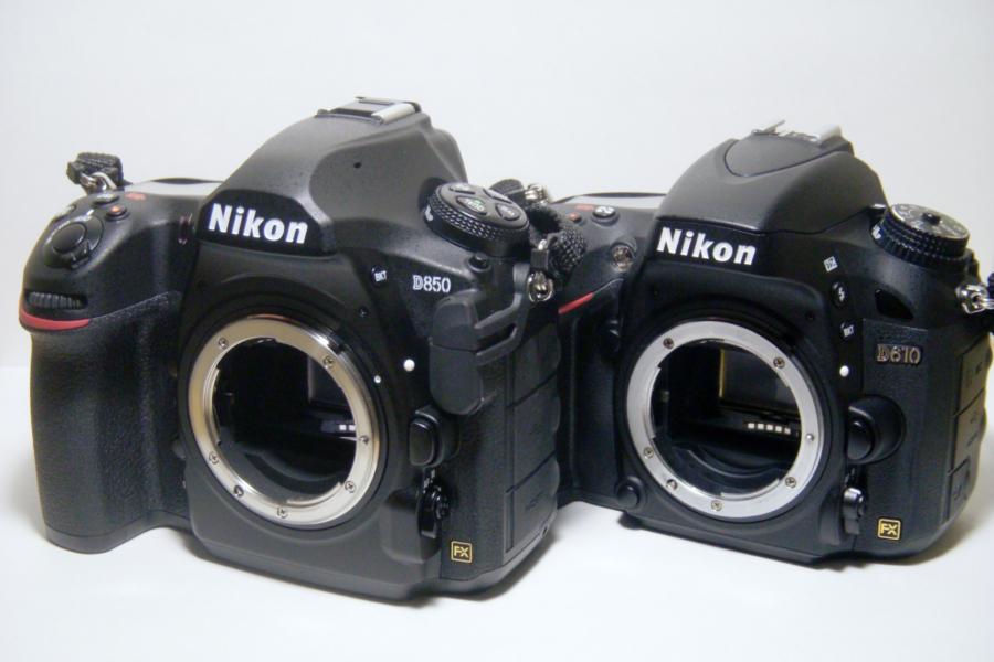 Nikon D850 D610