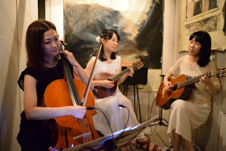 pipoo ライブ with guest musician 佐藤舞希子