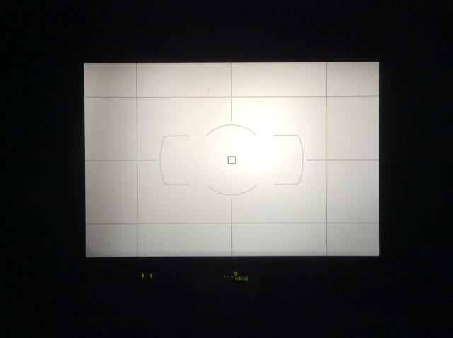 Nikon D610 ファインダー内水準器
