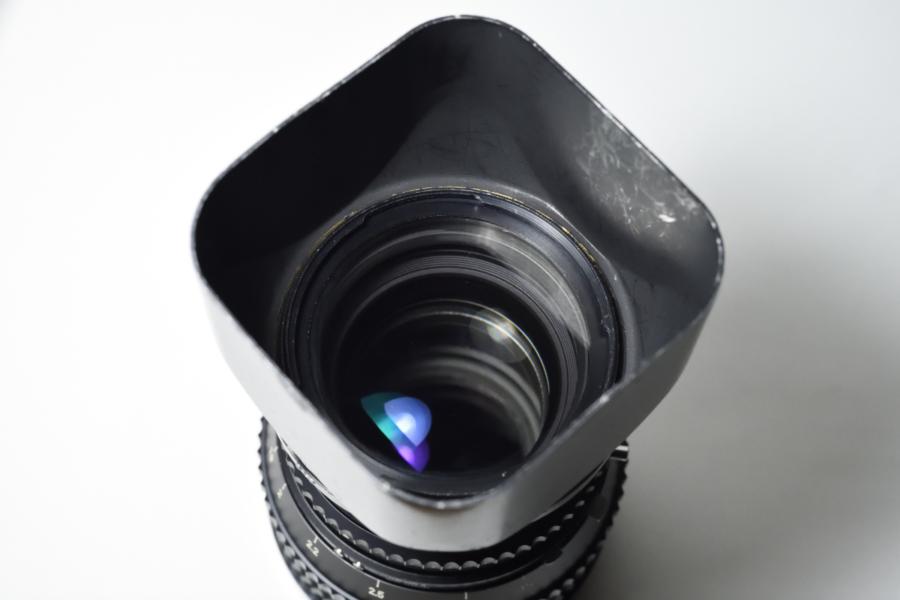 HASSELBLAD メタルレンズシェードC150 塗装剥がれ レンズ装着時