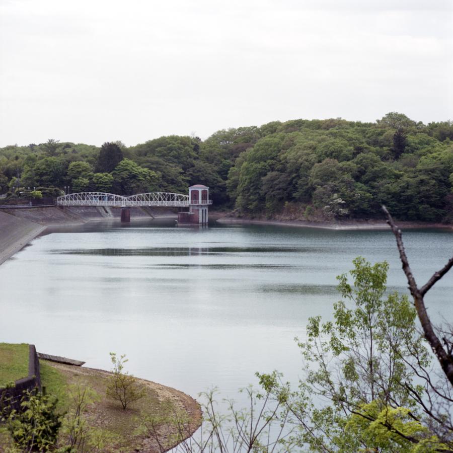 多摩湖 村山上ダム 取水塔