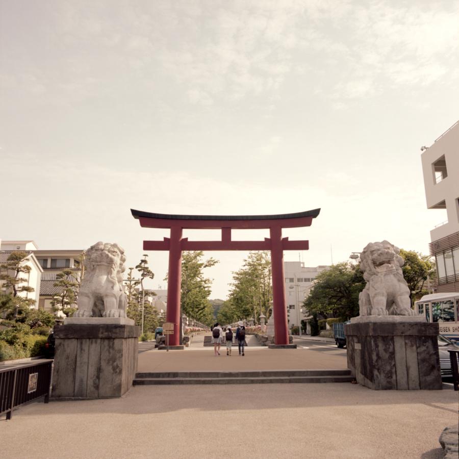 鶴岡八幡宮 二の鳥居