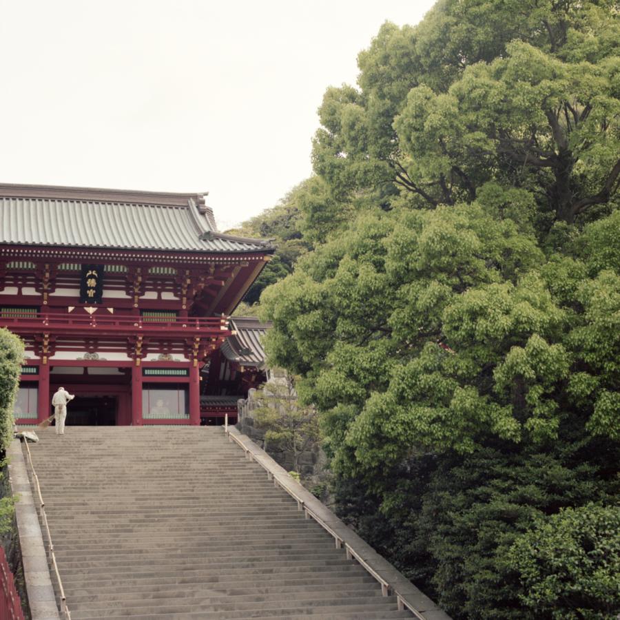 鶴岡八幡宮 階段