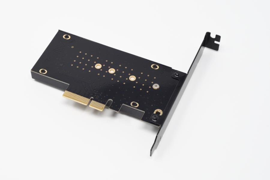 SAMSUNG 970 PRO 512GB AINEX AIF-08 ヒートシンク有り 裏側
