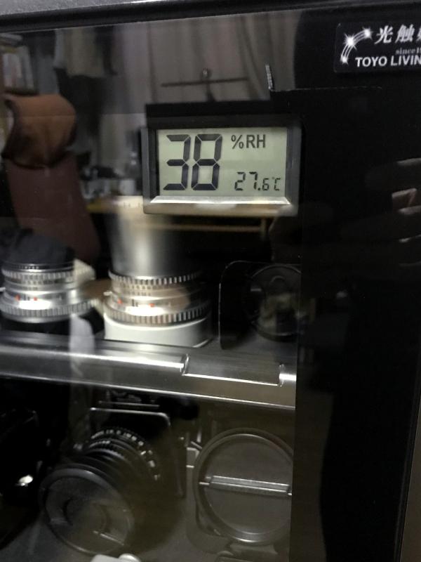 デジタル湿度計
