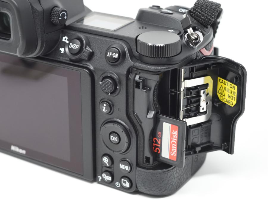 Z 7II SDカードスロット